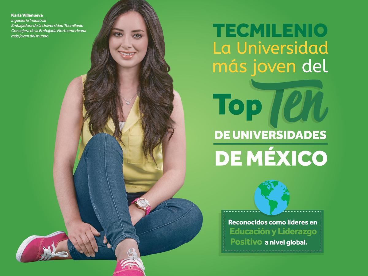 Universidad Tecmilenio una de las mejores universidades de México