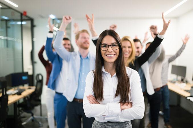 Energía positiva en el trabajo